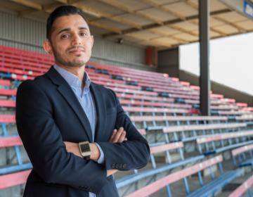 Kashif Bouns at Whitten Oval